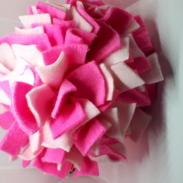 Schnüffelball  Mittel, rosa