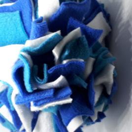 Schnüffelball  Mittel, blau