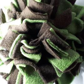 Schnüffelball  Mittel, grün-braun